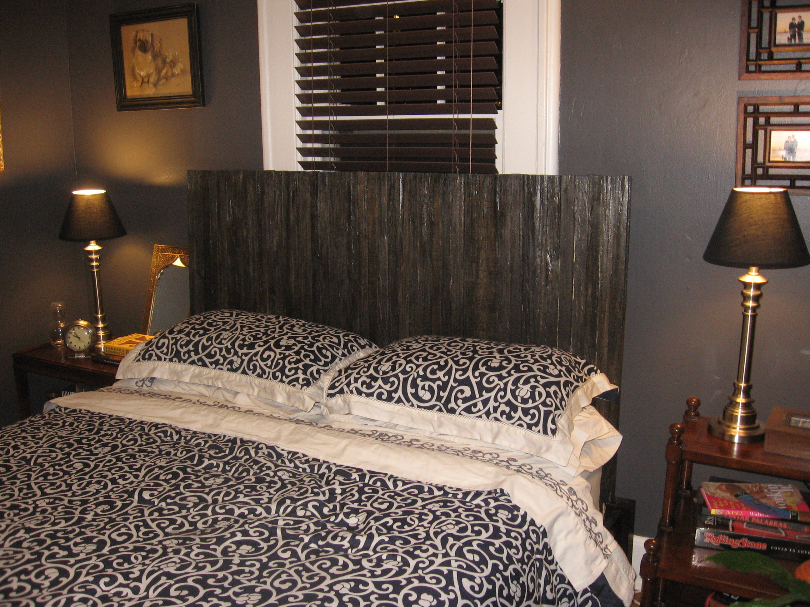Homemade Headboards For Beds Stunning Our Crafty Home Wood Lath Headboard  Review