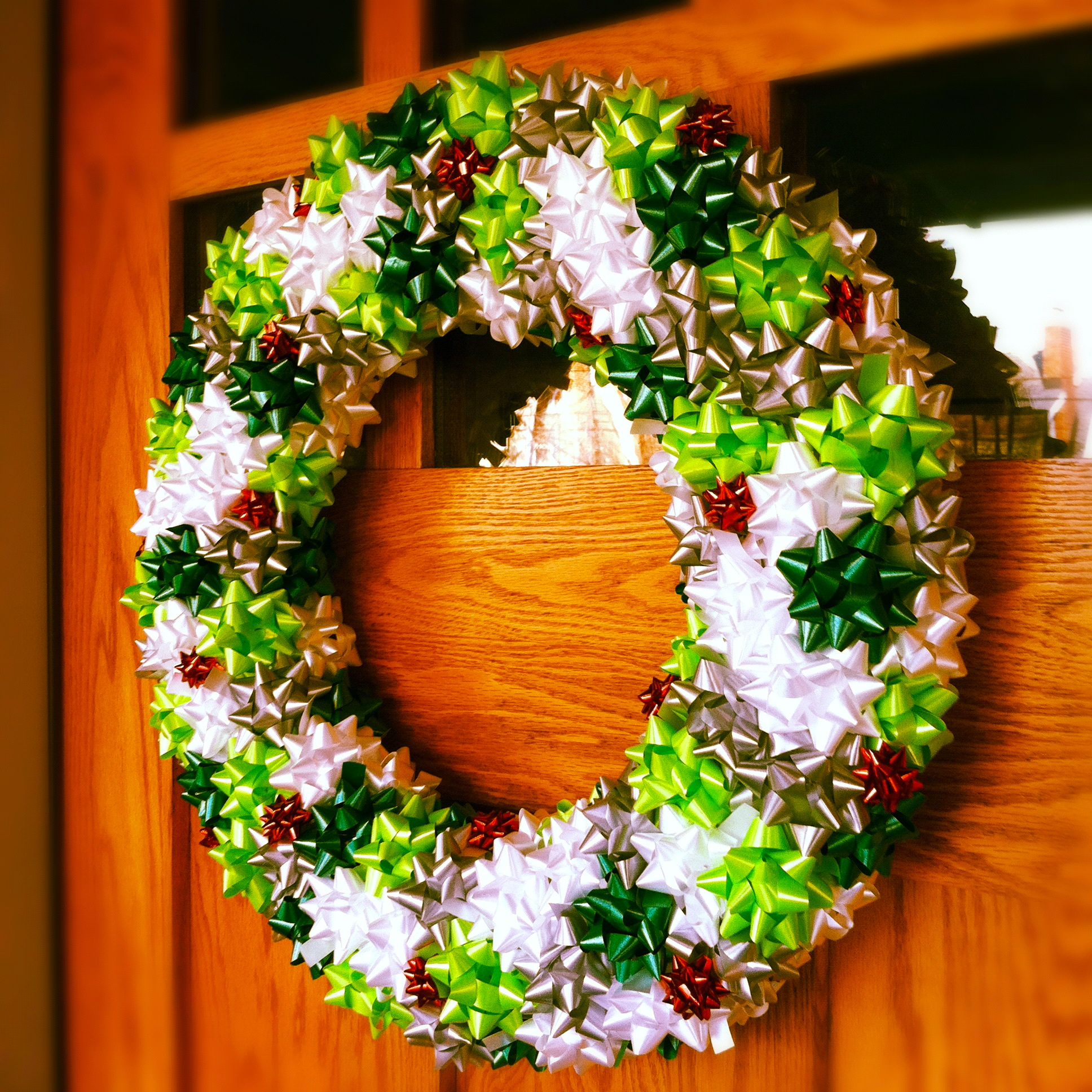 Our crafty home christmas bow wreaths Christmas wreaths to make